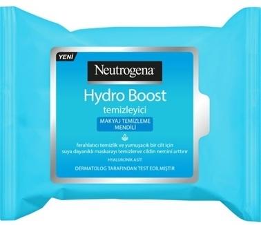 Neutrogena Neutrogena Hydro Boost Makyaj Temizleme Mendili 25adet  Renksiz